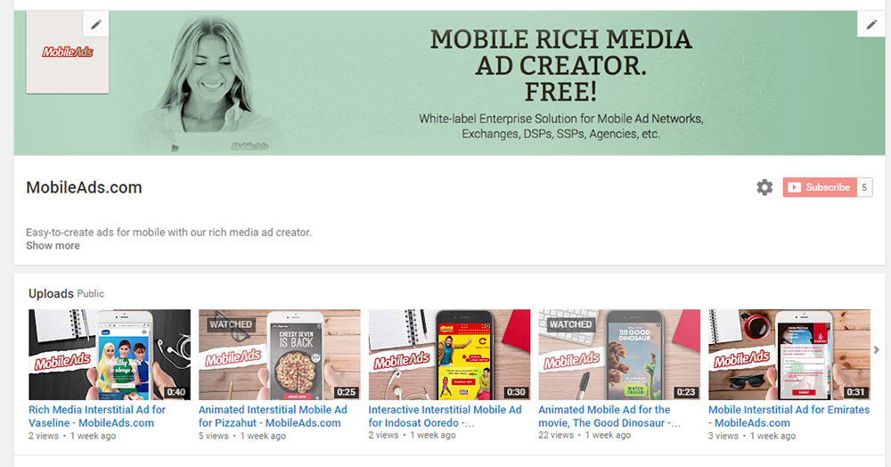 Mobile Ads – Rich Media Ad Creator